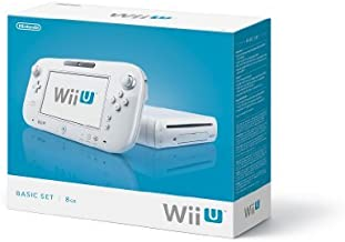 Nintendo Wii U Console 8GB Basic Set - White by Nintendo