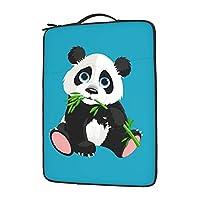 パンダ panda 13〜15.6インチ 男女兼用 耐衝撃 パソコン ケース 衝撃吸収 ノートパソコン ケース Pcバッグ 保護ケース パソコン バッグ 手提げカバン パソコン ケース ノートpc ケース
