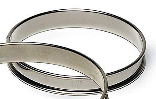 Gobel 220 mm, Edelstahl, runde Kuchenform für Tarte Ring
