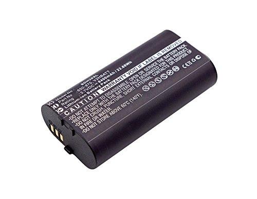 subtel Batteria Premium Compatibile con SportDOG Tek 2.0 GPS (6400mAh) SportDOG 650-970, V2HBATT Batteria di Ricambio, accu Sostituzione, sostituto