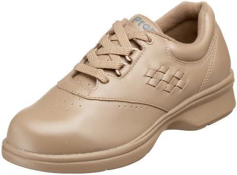 Propet Women's W3910 Vista Walker Comfort Shoe,Taupe Smooth,8 X (US Women's 8 EE)