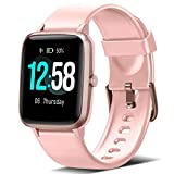 Blackview Smartwatch, Relojes Inteligentes Mujer - Reloj Digital Monitor de Sueño, Reloj Deportivo Hombre Pulsometro, Pulsera Actividad Inteligente Caloría, Reloj Inteligente Hombre para Android e iOS