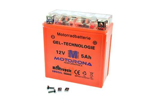 Gel Akku Batterie für Simson S50 S51 SR50 12V 5Ah speziell f. VAPE Preis inkl. 7,50€ Pfand