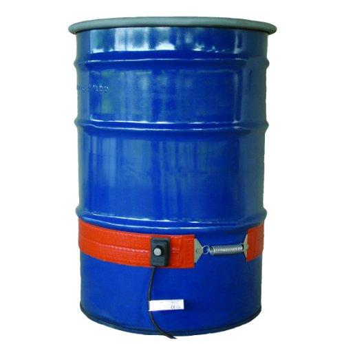 Buy BriskHeat ECONO55-1 ECONO Metal Drum Heater, Fits 55-Gallon Drums, 2-Layer Reinforced Silicone R...