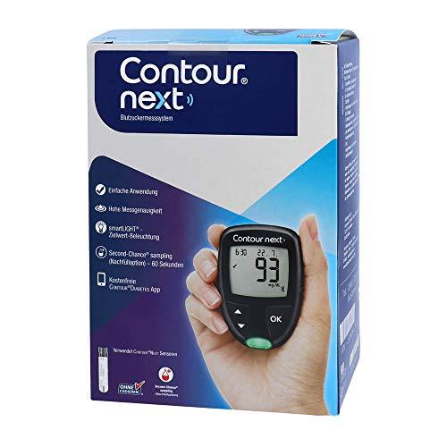 Contour Next Set Blutzuckermessger�t mg/dl, 1 St