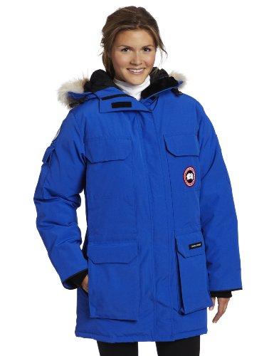 Canada Goose Women's Pbi Expedition Parka (Royal Pbi Blue, X-Small)