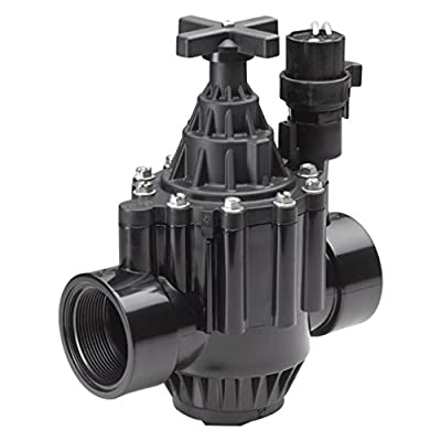 "Rainbird Plastic PGA Series Combination Globe and Angle Electric Remote Control Valve, 2""/24 VAC from Standard Plumbing Supply-LG"