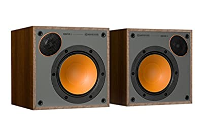 Monitor Audio 50 Walnut Bookshelf Speakers (Pair) from MONITOR AUDIO