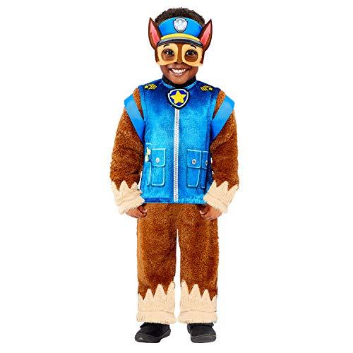 Generique - Disfraz Deluxe Chase Paw Patrol niño - 4-6 años (110 cm)