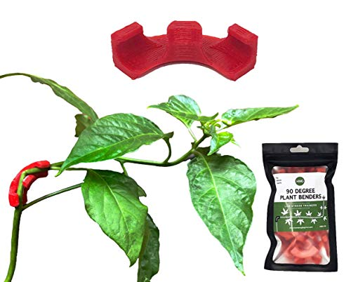 HMG 90 Degree Plant Bender (35 Pack) for Low Stress Training (LST) and Plant Training