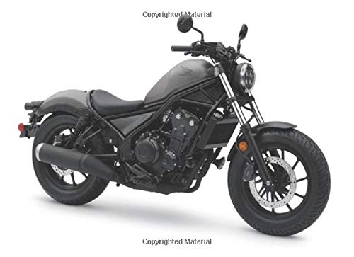 Honda Rebel 500 Matte Armored Silver RFQ: 120 pages with 20