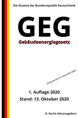 Gebäudeenergiegesetz - GEG, 1. Auflage 2020