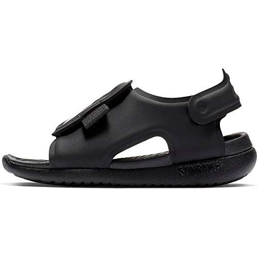 Nike Sunray Adjust 5, Zapatos de playa y piscina para Niños, Negro (Black/White 001), 21 EU, 4.5 UK