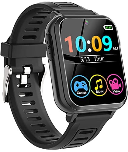 Smart Game Watch for Kids, Kids Smart Watch with 16 Puzzle Games 1.44'...