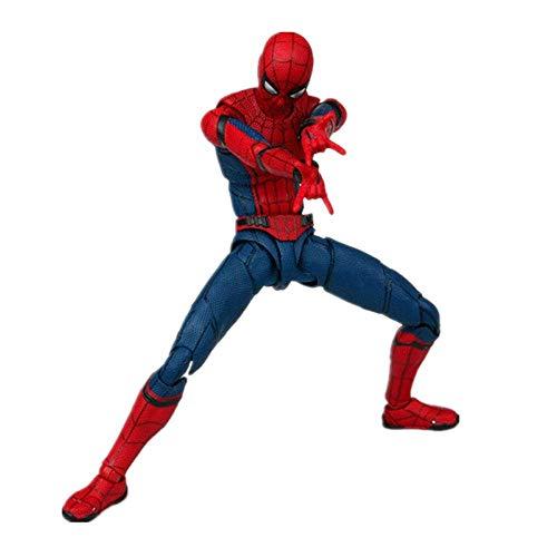 JTWMY Modelo muñeca Hombre araña Homecoming The Spiderman PVC Figura de acción de colección Modelo de Juguete 15cm Boutique