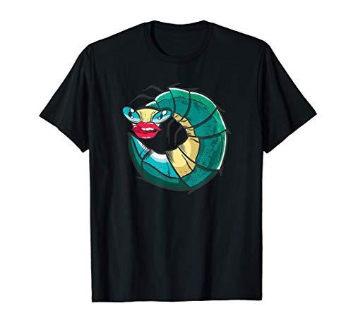 Filtro de Boca Grande Oruga Lengua Fuera Camiseta