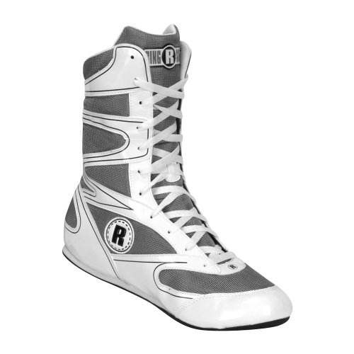 Ringside Undefeated Wrestling Boxing Shoes, 10, White