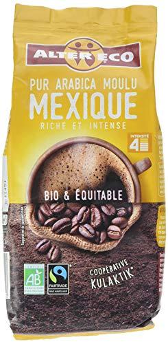 Alter Eco Café Moulu Pur Arabica Mexique Bio et Equitable 260 g