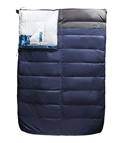 The North Face Dolomite Double Down 20F/-7C, Cosmic Blue/Asphalt Grey, Long