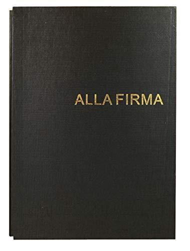 Libro Firma da 18 Fogli Nero