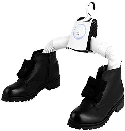 Xyfw Secadora Secadora De Zapatos Eléctrica Portátil PTC Fiebre Protección contra Sobretemperatura...