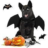 Joyibay Alas de Perro, Disfraz de Halloween para Perros Alas de Murciélago para Perros de Halloween Disfraces de Fiesta para Mascotas para Perros Fiesta Temática de Vacaciones de Halloween