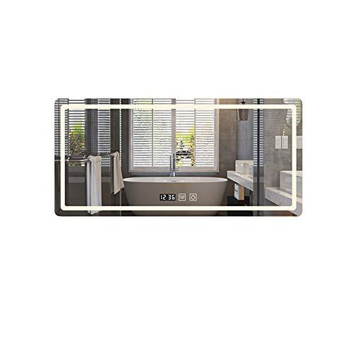 MFWallMirror Geleide, intelligente badkamerspiegel voor wandmontage, anti-condensspiegel, badkamerspiegel