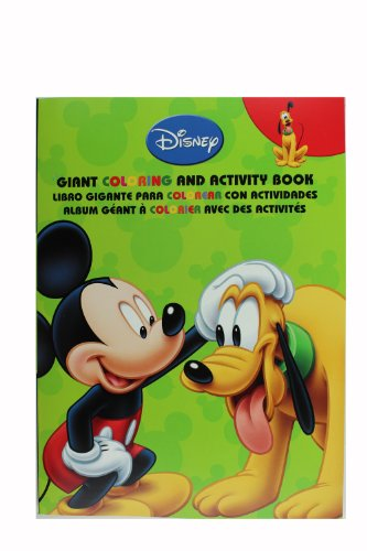 Green Pluto and Mickey Mouse Coloring Book - Pluto Activity Book
