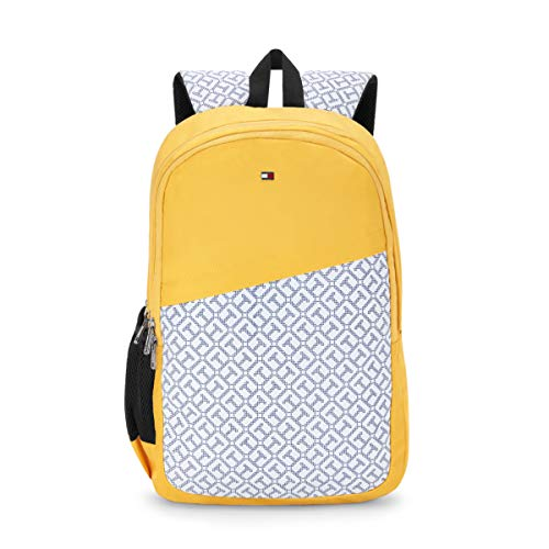 Tommy Hilfiger 31 cms Yellow Laptop Backpack (TH/BIKOL14VIS)