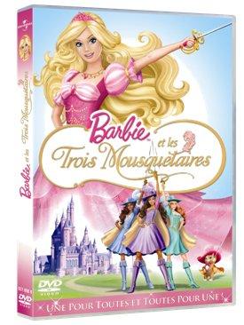 Barbie et les trois mousquetaires [Francia] [DVD]