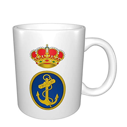 Taza de café con diseño de Armada Española