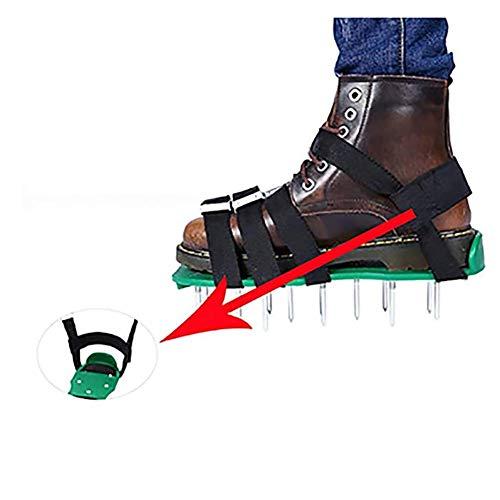 Césped Aireadores Aireador De Uñas Césped Universal Lawnrakers Jardín Inflables Perforadas Cemento Zapatos Artefacto Césped Aireadores Correas Ajustables Se Dispararon Los Zapatos,1