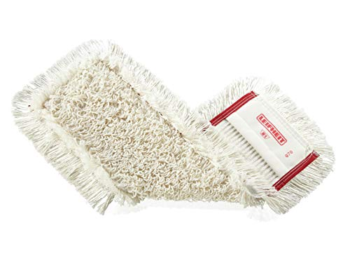 Leifheit Wischbezug Professional Tuft, für alle Bodenarten, grobe Verschmutzung, Bodenwischer Ersatzbezug für glatte Böden, aus Baumwoll-Polyester-Mischung, professionelle Bodenreinigung