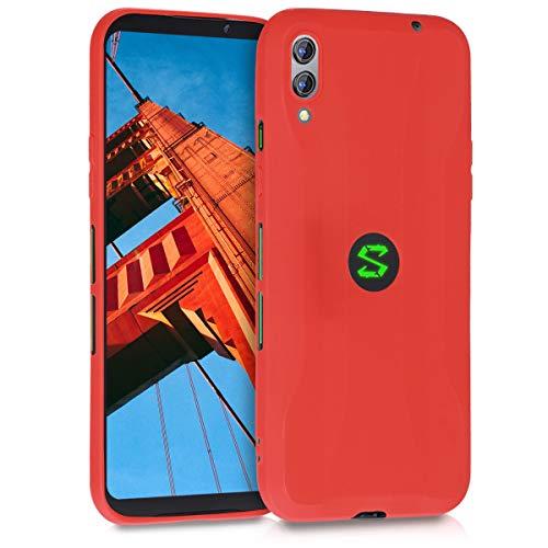 kwmobile Hülle kompatibel mit Xiaomi Black Shark 2 - Hülle Silikon - Soft Handyhülle - Handy Hülle in Rot matt