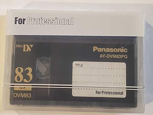 Find Bargain Panasonic AY-DVM83PQ Professional Mini DV Tape 83min