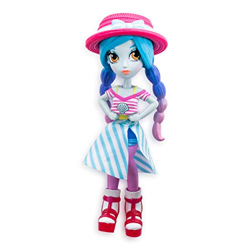 Off the Hook Surprise - 4 Doll Mila (Summer Vacation) - with Mix and Match Fashions