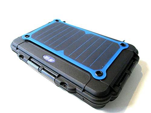 TAF CASE Outdoor Koffer wasserdicht Kompaktserie 100 (Solar, 350 x 230 x 59 (Typ 103 schwarz))