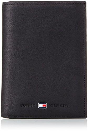Tommy Hilfiger Johnson N/S Wallet W/Coin Pocket, Portafoglio Uomo, Nero (Schwarz (Black 990), 10x13x2 cm (B x H x T)