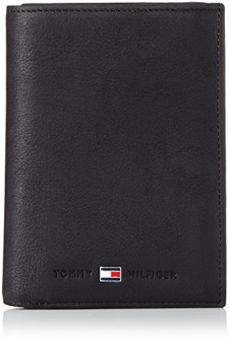 Tommy Hilfiger Herren JOHNSON N/S WALLET W/COIN POCKET Geldbörsen, Schwarz (BLACK 990), 10x13x2 cm