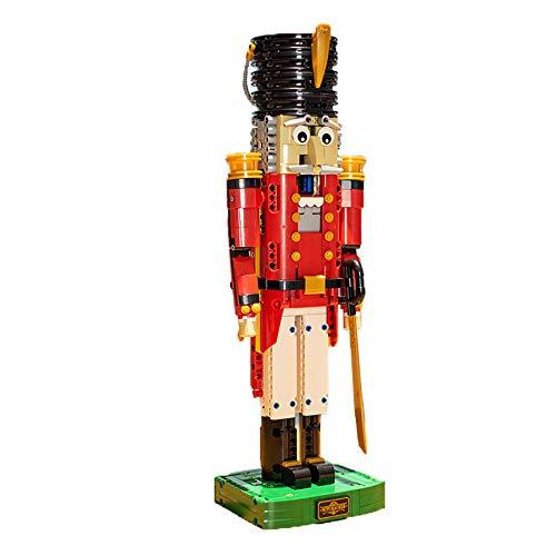 Kompatibel Mit Lego Nussknacker Building Block City Series Jungen Hochschwieriges Kinderpuzzle Modellspielzeug Zusammenbauen,A
