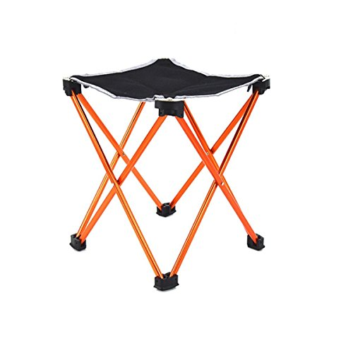 GAOJIAN Outdoor Mini Ultra-Light Small Bench Portable Fold Aluminium Alliage Petit Tabouret Fishing Painting Sketch Chair Tabouret Charge 200 Livres