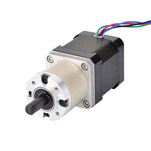 STEPPERONLINE Nema 17 Getriebemotor 14:1 Planetengetriebe Getriebe Hohes Drehmoment 1.68A CNC Schrittmotor