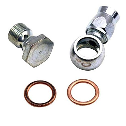 Speedway Motors 5/8 Inch or 16mm to AN6 Banjo Fitting for Power Steering Pump