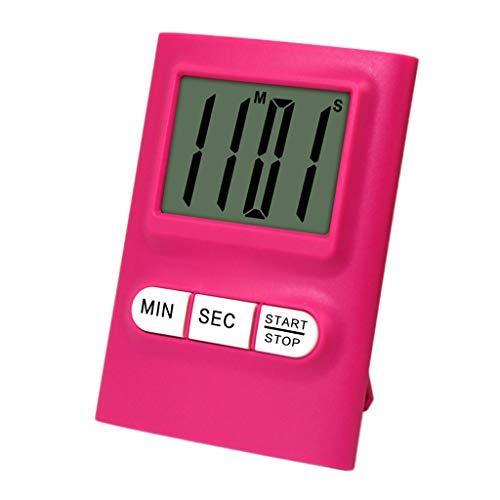 Grote digitale LCD-keuken, de timer Count-Down wekker magnetisch kookt