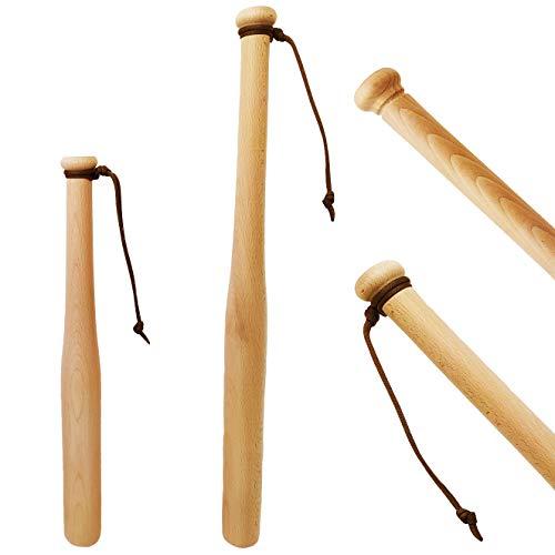Victorer Baseballschläger aus Holz - ideal zur Selbstverteidigung (46 cm)