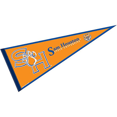 College Flags & Banners Co. Sam Houston State Pennant Full Size Felt