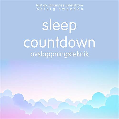 Sleep countdown. Avslappningsteknik cover art