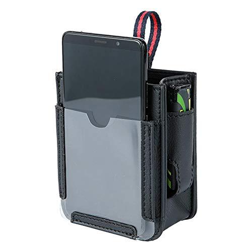 Tasca portaoggetti per Auto Air Vent Organizer Tasca per Auto Multifunzione Tasca per Auto per autoveicoli Custodia per Telefono Cellulare Custodia per Telefono Portachiavi Organizer - 4 Tasche