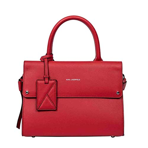 Luxe Mode | Karl Lagerfeld Womens 201W3025RED Rode Handtas |