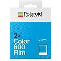 Polaroid Originals 4841 - Paquete Doble película Color para 600 y i-Type cámara, Color Blanco